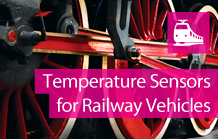 Sensit railway vehicles - temperature sensors