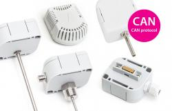 Temperature sensors with output CAN / CAN protocol