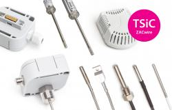 Temperature sensors with output TSic / ZAC-wire