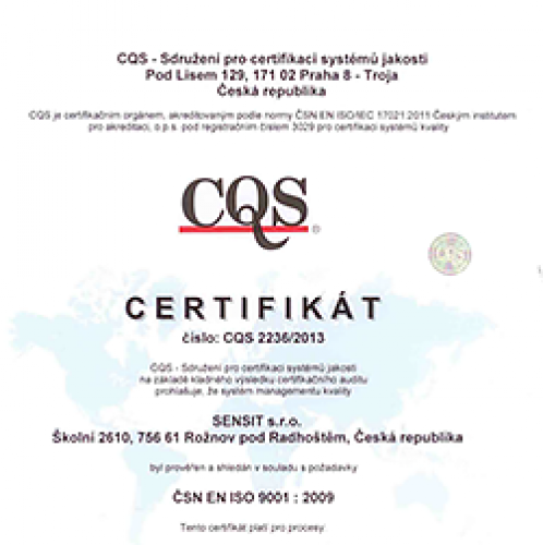 Certificates and declarations